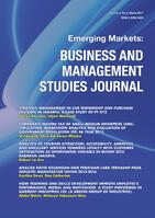 Emerging Markets : Business and Management Studies Journal